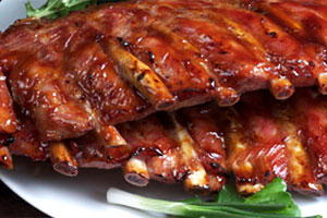 costite de porc la gratar la restaurant in cluj