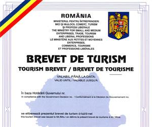 obtinere brevet de turism